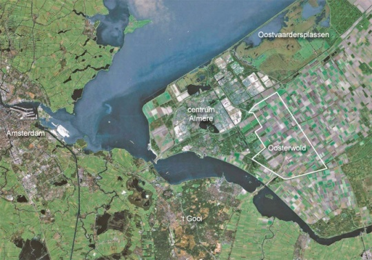 Oosterwold kaart